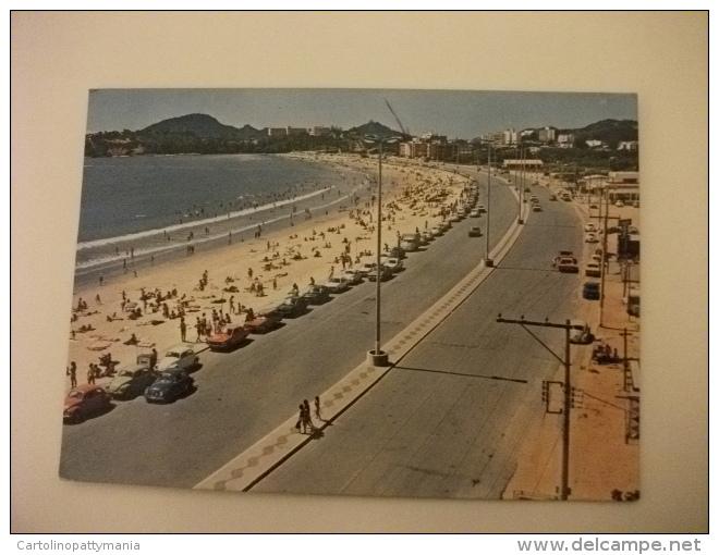 STORIA POSTALE FRANCOBOLLO COMMEMORATIVO Brasile Vitòria Camburi Beach And Highways - Vitória