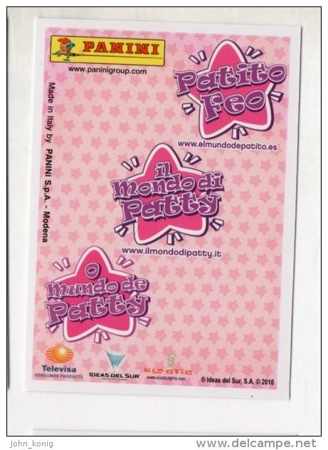 FIGURINA TRADING CARD N.10/50 - IL MONDO DI PATTY (POPULARES VS DIVINAS) - PANINI - O MUNDO DE PATTY - PATITO FEO - Panini