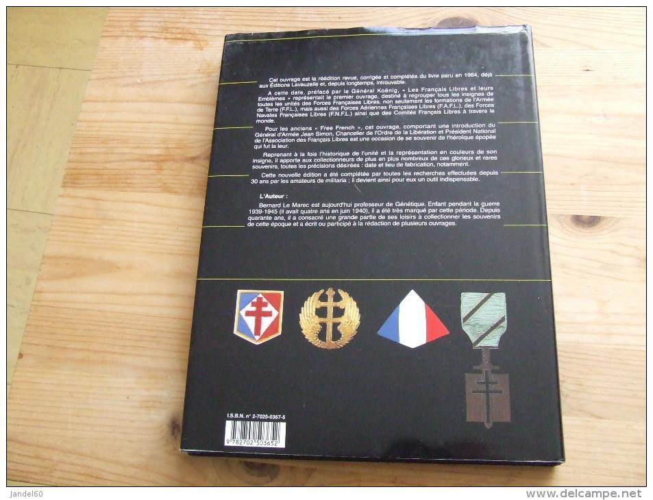 LIVRE LES FRANCAIS LIBRES ET LEURS EMBLEMES - Books