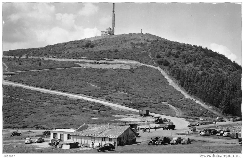 LOIRE  42  MONT PILAT  COL ET CRET DE L'OEILLON  TOUR DE LA TELEVISION  AUTOMOBILES - Mont Pilat
