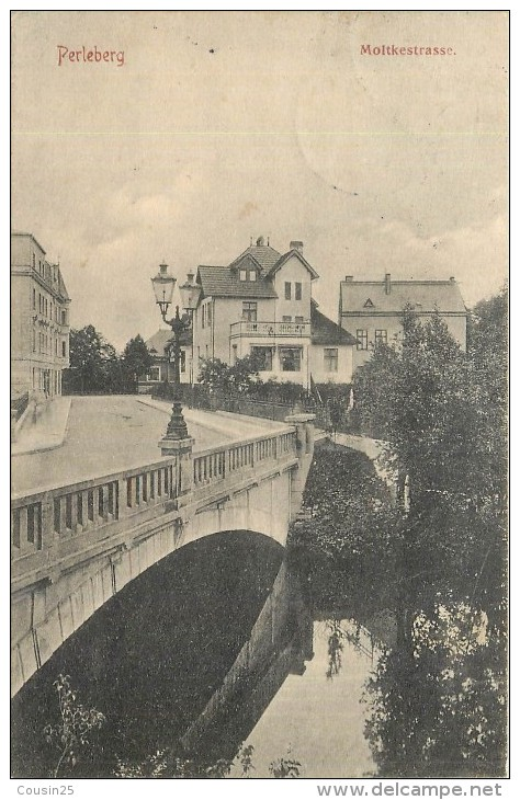 ALLEMAGNE - PERLEBERG - Moltkestrasse - Perleberg