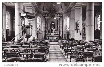 Monten Aken - Binnenzicht Kerk (echte Foto, Comité O.L.V. Van Steps) - Gingelom