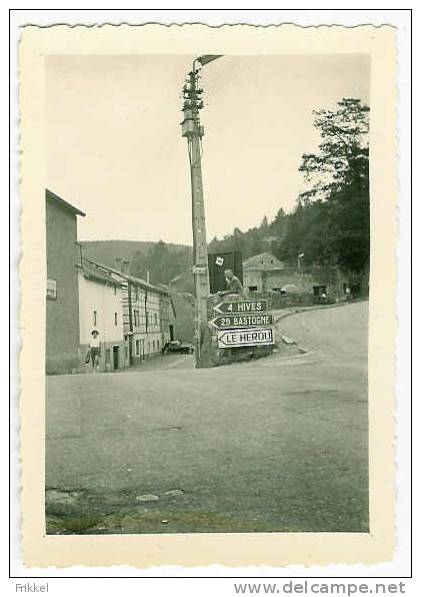 Originele Foto Photo La Roche Laroche 1958 - Lieux