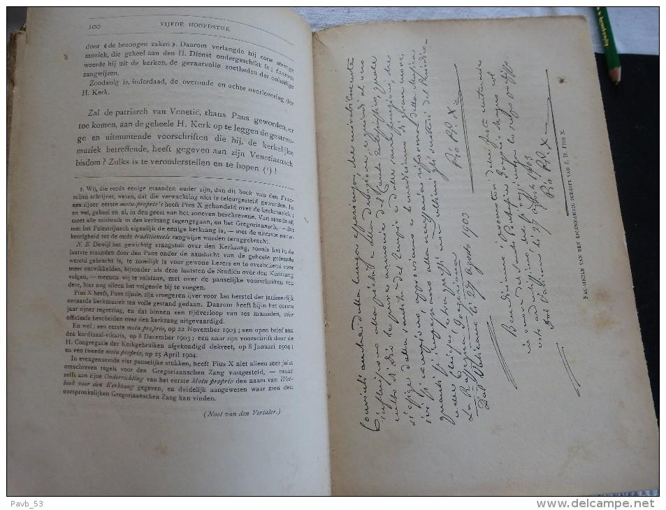 Z-H Paus PIUS  X 1835-1903  Met Talrijke Foto´s - Libros, Revistas, Cómics