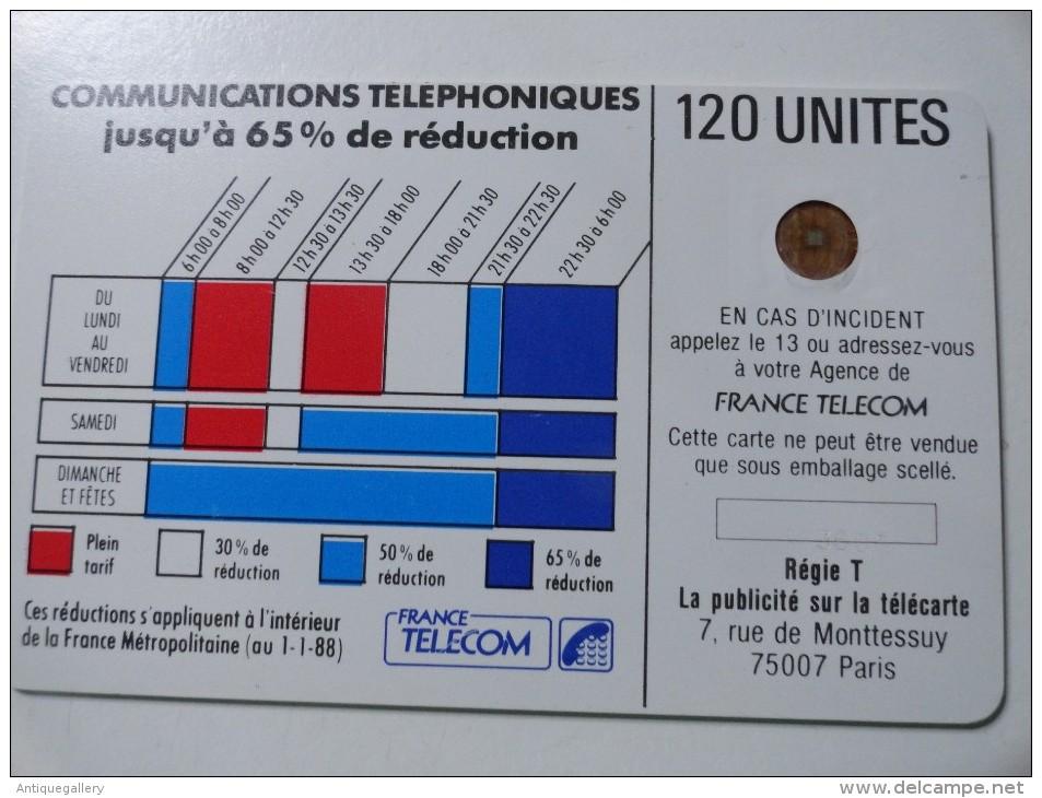 RARE : DÉCALAGE DE COULEUR ET NUMÉROTATION SUR CORDONS BLEU 120U SC3 SANS ENT NR 103606 - Variëteiten