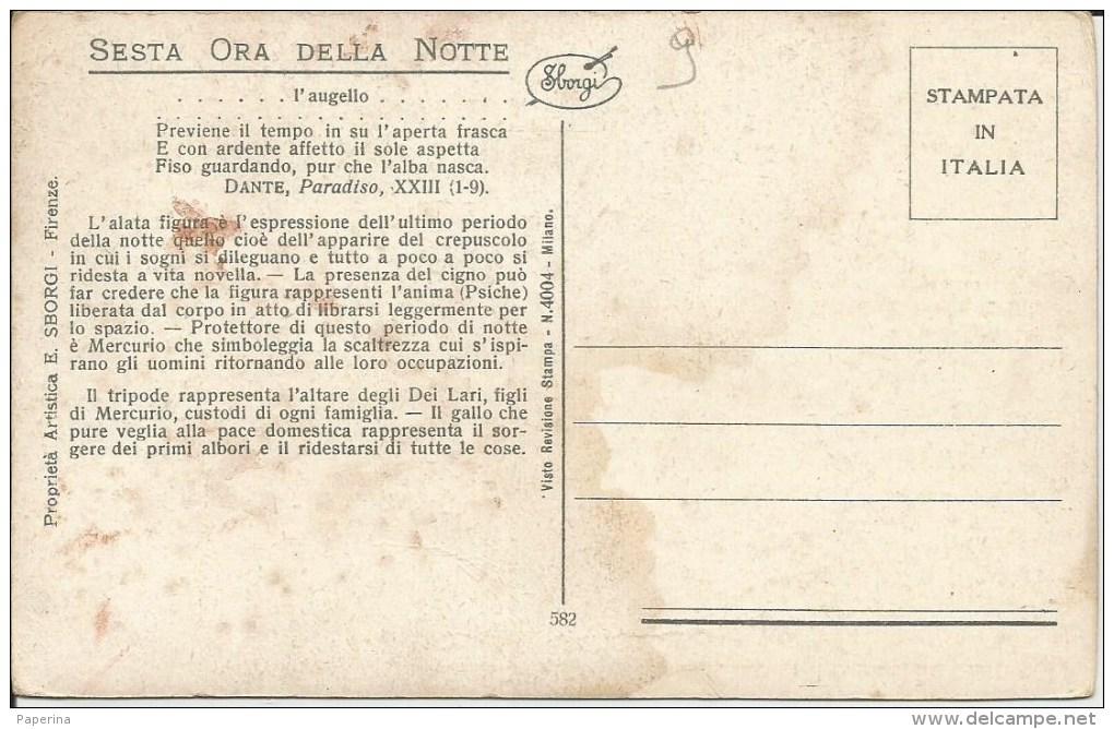 SESTA ORA DELLA NOTTE : TRIPODE, GALLO, VERSI DI DANTE - Astronomia