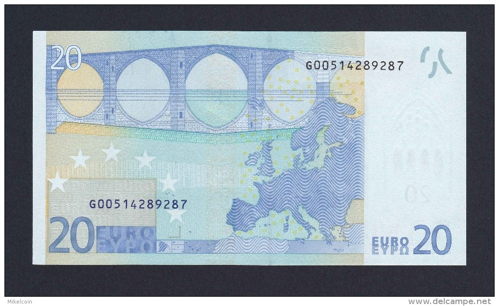 (BE011)  - 20 € - CYPRUS/CHYPRE - G - JC TRICHET - SC/UNC  (G009G5) - EURO