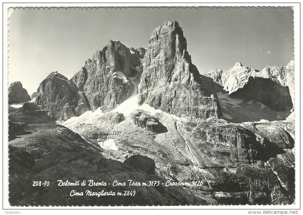 Dolomiti Di Brenta - Cima Tosa - Crozon - Cima Margherita. - Trento