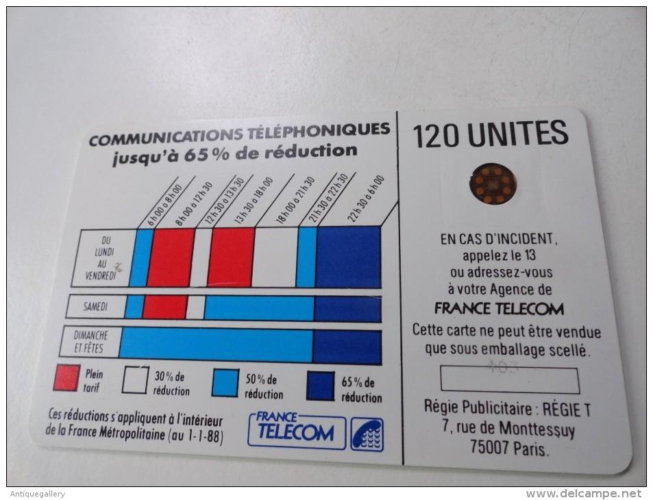 VERY RARE : CORDONS BLEU 120U SC4ORN AVEC ENT NUMEROTATION 103 - Variëteiten