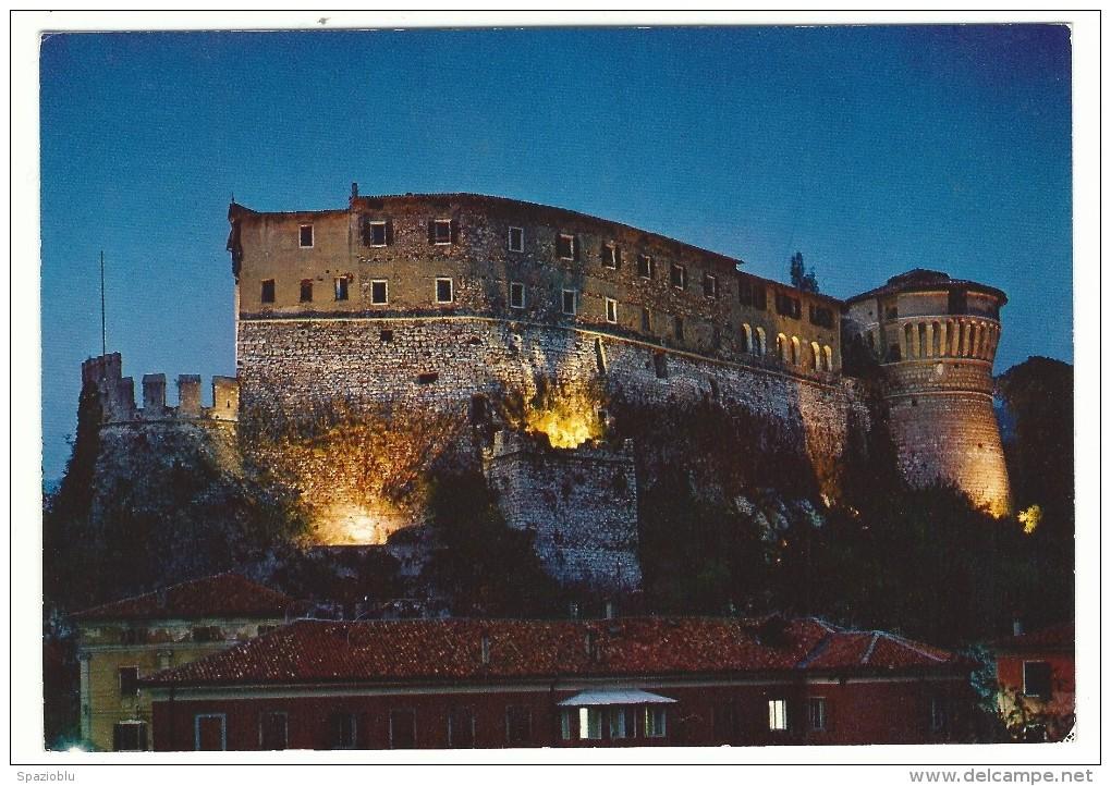 Trento, Rovereto - Castello Di Rovereto Notturno. - Castelli
