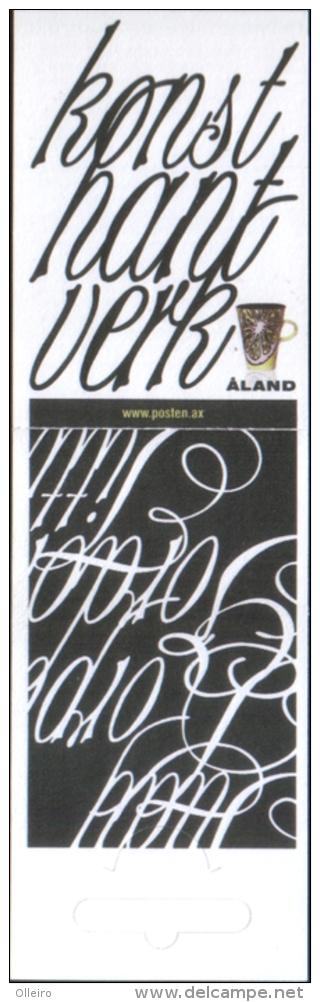 Aland 2007 Booklet  Contemporary Art  Libretto Arte Contemporanea  Carnet Art  ** MNH Complete Set - Aland