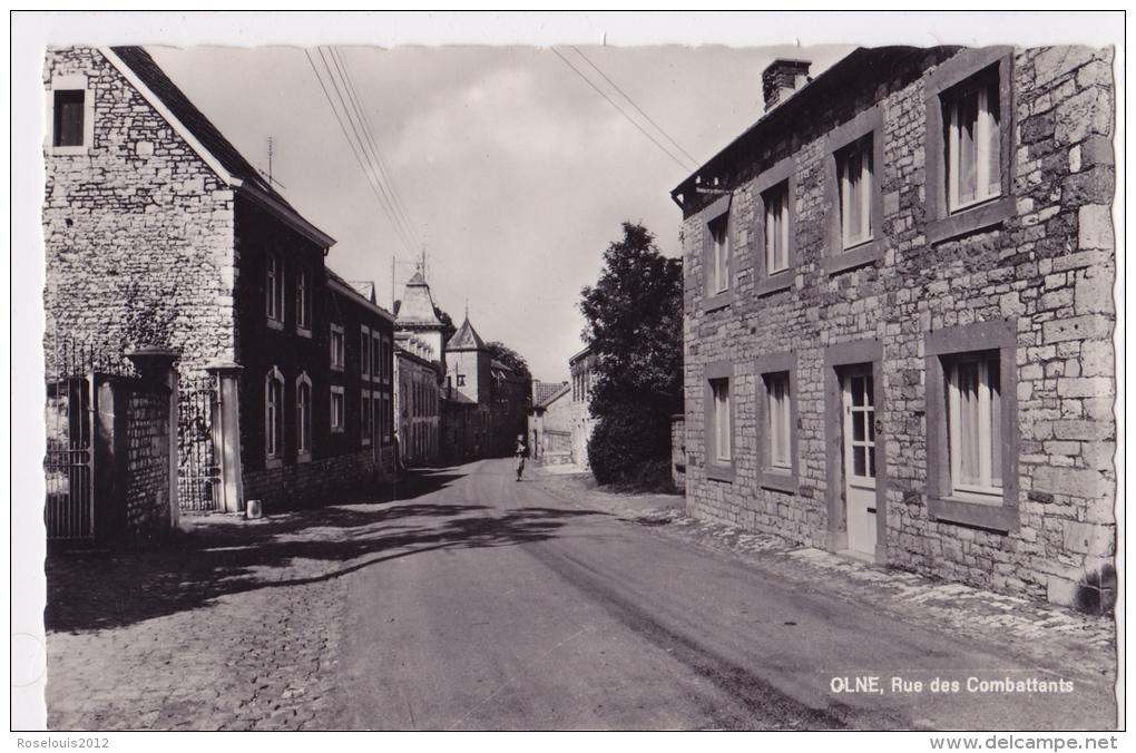 OLNE : Rue Des Combattants - Olne