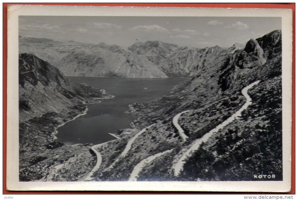 KOTOR ( Cattaro ) - Montenegro * Not Travelled * Produced By Griesbach & Knaus Zagreb * Boka Kotorska Bocche Di Cattaro - Montenegro