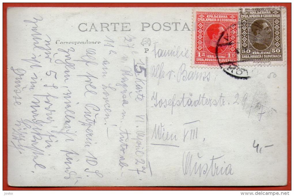 KOTOR ( Cattaro ) - La Rue Du Lovcen  ( Montenegro ) * Travelled 1930. * Boka Kotorska Bocche Di Cattaro Crna Gora - Montenegro
