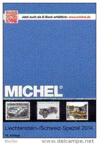 Liechtenstein MICHEL Spezial Briefmarken Katalog 2015 Neu 32€ Vorläufer Flug-/Militär-Post Belege Ganzsache Catalogue FL - Material Und Zubehör