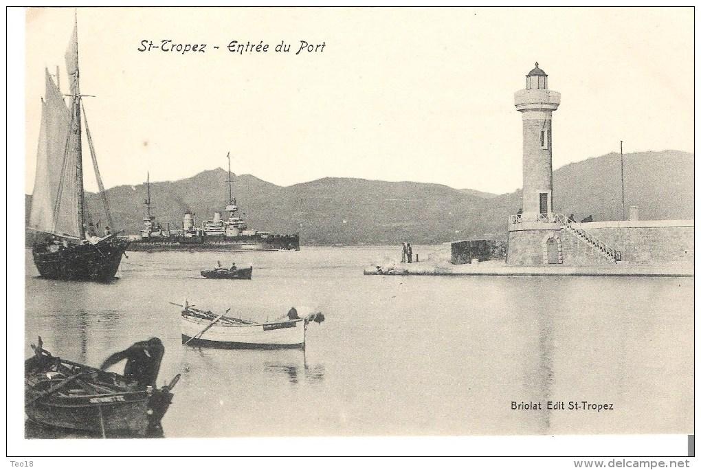 St Tropez (83) - L´entrée Du Port - Saint-Tropez