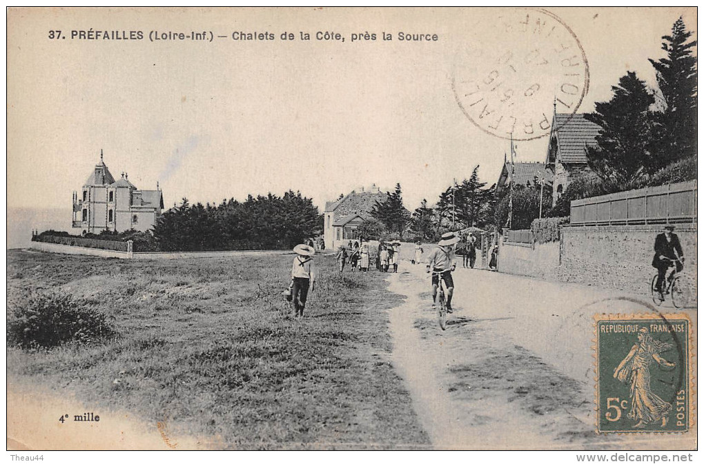 ¤¤  -   37  -    PREFAILLES   -   Chalets De La Côte, Près De La Source    -  ¤¤ - Préfailles