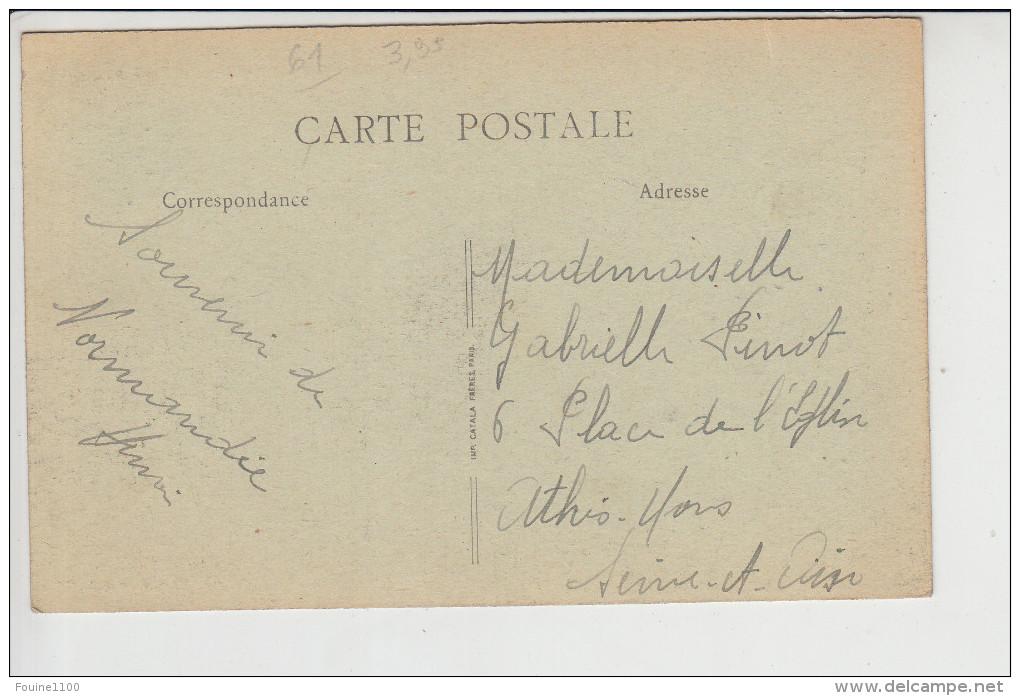 Carte De  L´ Aigle ( Laigle )  Château De Souchey ( Recto Verso ) - L'Aigle