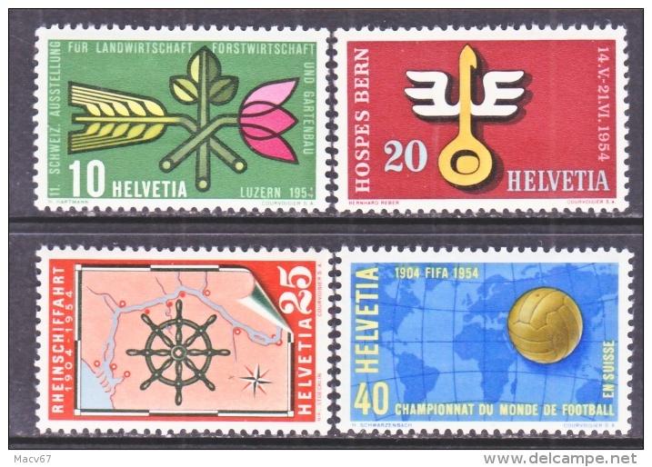 SWITZERLAND  347-50   * - Switzerland