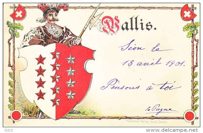 FANTASTIQUE COLLECTION-CARTE DES CANTONS SUISSE-DOS UNIQUE-TTB-ANNEE 1901-02- - Non Classés