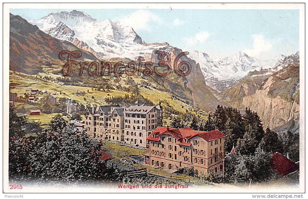 (Suisse) - Switzerland - Berne - Bern - Wengen Und Die Jungirau - 2 SCANS - BE Berne