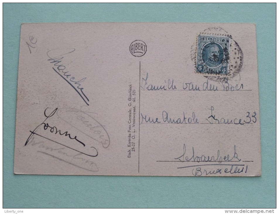 La Maison Du Garde Mont-de-l'Enclus / Bosch-wachter Kluisbergen ( Albert ) Anno 19?? ( Zie Foto Voor Details ) !! - Mont-de-l'Enclus