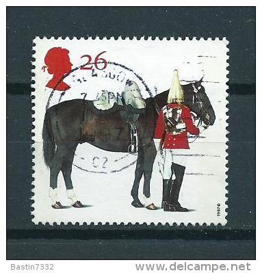 1997 England Paarden,cheval,pferde,horses 26p. Used/gebruikt/oblitere - 1952-.... (Elizabeth II)