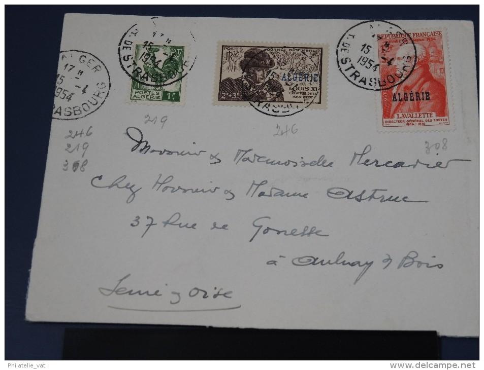 ALGERIE - Ensemble De 5 Lettres 1950 Et Plus - A Voir - (Lot N°1371) - Algeria (1924-1962)