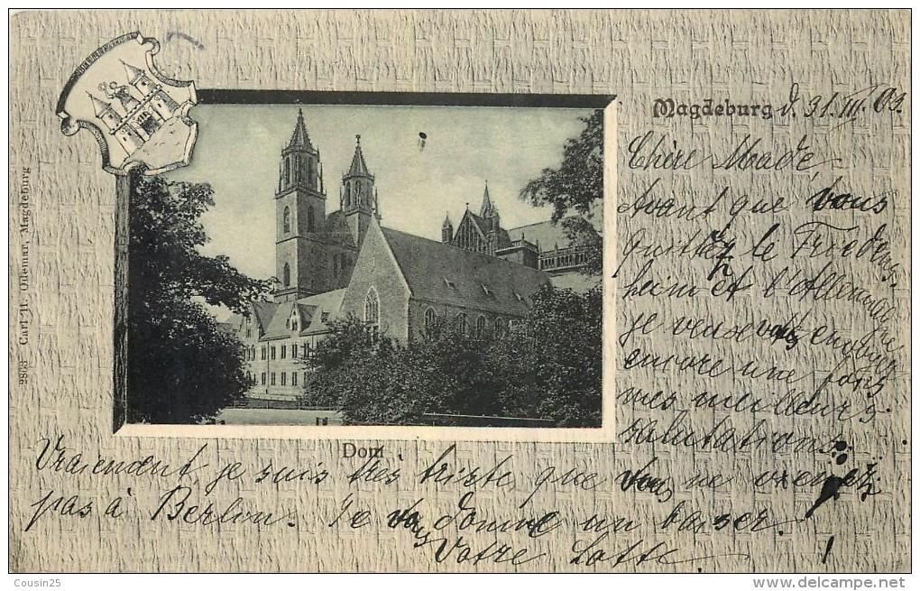 ALLEMAGNE - MAGDEBURG - Dom - Magdeburg
