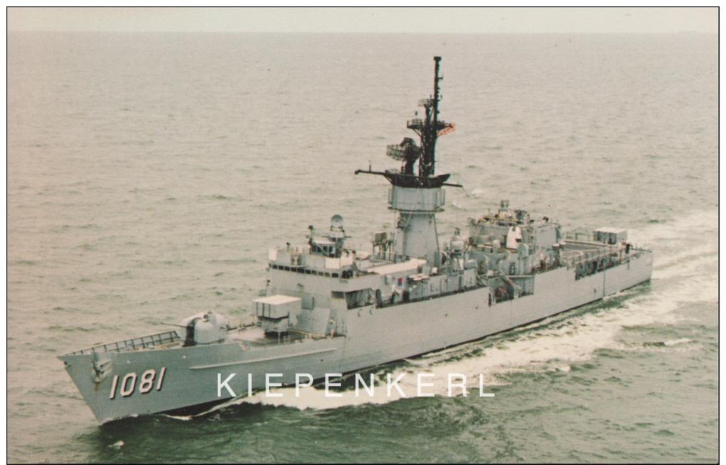 U.S.S. AYLWIN FF 1081 A Knox Class Frigate Serving The United States Navy´s Atlantic Fleet / SHIP BATEAU - Oorlog
