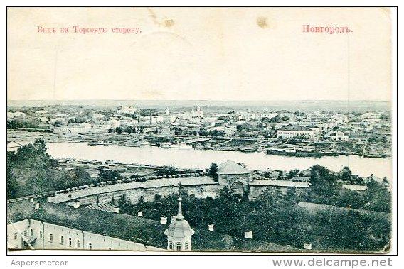 RUSSE-RUSO-RUSSIAN-RUSSO PANORAMA PANORAMIC VIEW CIRCULEE CIRCULATED 1912 GECKO - Rusia