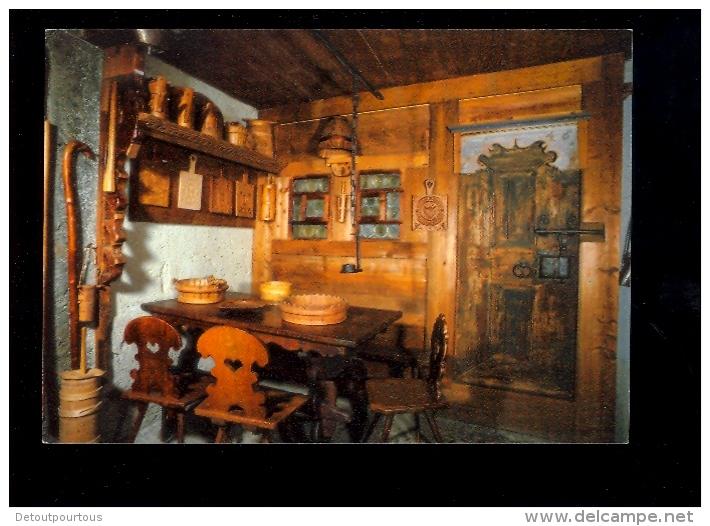 CHATEAU D'OEX CH 1837 Suisse Vaud : Cuisine Paysane Au Musée Du Vieux Pays D'ENHAUT - VD Vaud