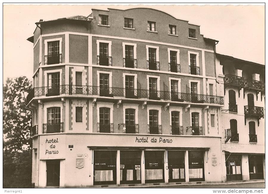 CPA-1955-64-ST JEAN DE LUZ-HOTEL De PARIS-TBE - Saint Jean De Luz