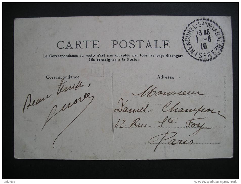 L'Isere Pittoresque Le Vercors Maisons Sous Les Rochers Pres De Villard De Lans 1910 - Rhône-Alpes
