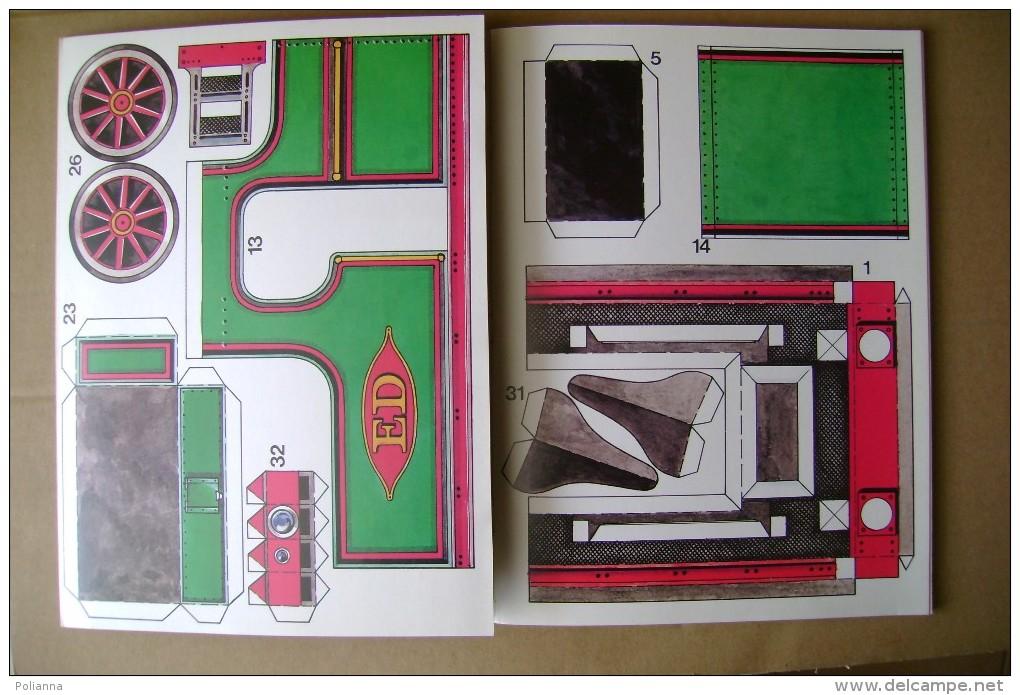 PCL/2 CARTAMODELLO Per Costruire Una LOCOMOTIVA A VAPORE - DAMPFLOK Schwager Und Steinlein 1980 - Books And Magazines
