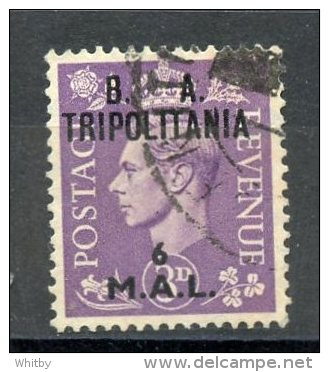 Great Britain, Office Abroad, Tripolitania1950 6l King George VI Issue #19 - Other