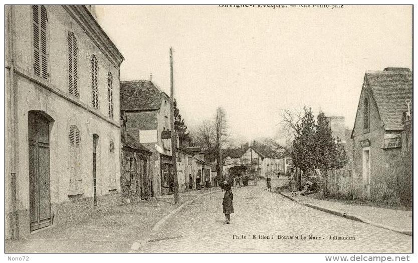 Savigné L Eveque Sarthe 72 Rue Principale - Other Municipalities