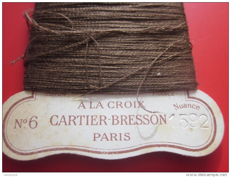 20 Métres REPRISER C+B BRILLANT 22 YEARDS N°6 à La CROIX CARTIER -BRESSON NUANCE N° 1592 PARIS Loisirs Créatifs 1930 - Stickarbeiten