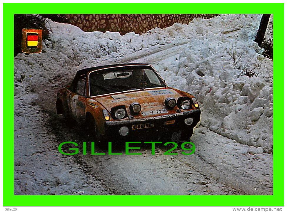 SPORTS AUTOMOBILE RALLYE - No 12 - PORSCHE VW 914, 1800 C.C., 190 CV - - Rallyes
