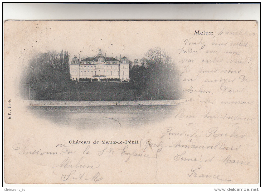 CPA Melun, Château De Vaux Le Pénil (pk15526) - Melun