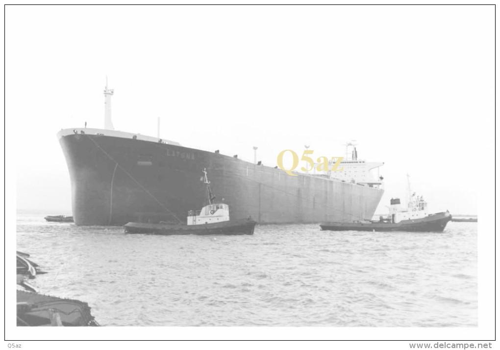 Hm1.k- 18x24cm Petrolier LATONA Shell Saint-Nazaire Cargo Paquebot - Bateaux