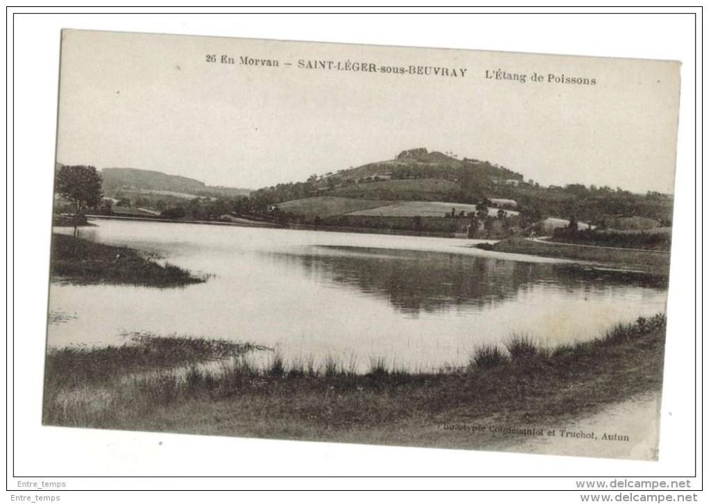 Etang De Poissons Saint Leger - France