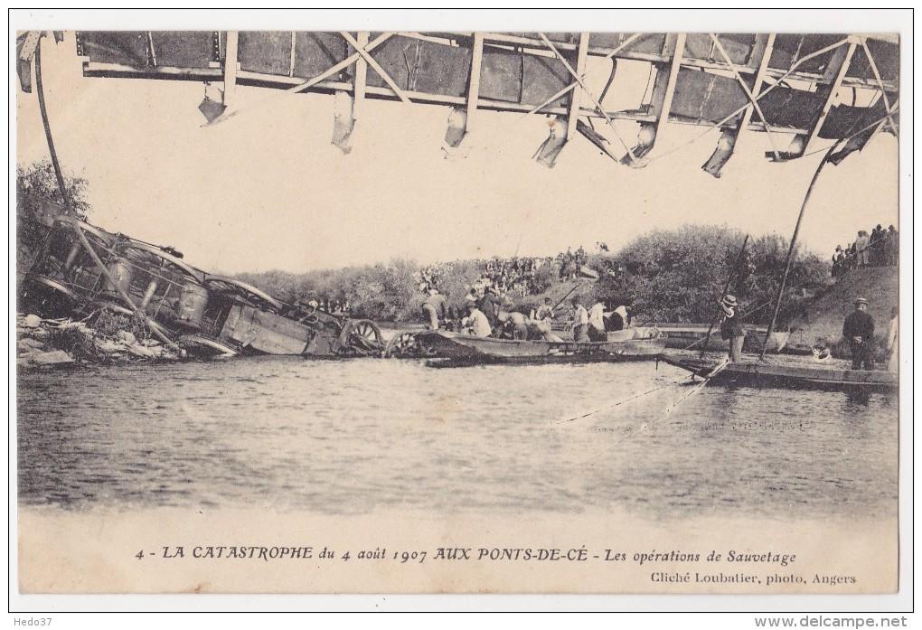 Catastrophe Du Pont De Cé - Angers