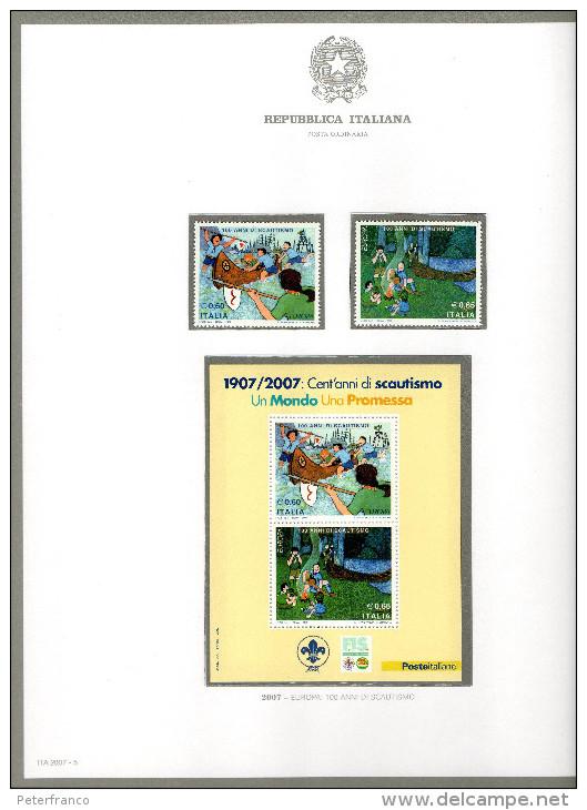 ITALIA 1967/2018  COLLEZIONE NUOVA - 5 Album - 430 Fogli Circa (manca Solo Foglietto 1999 Milan) - Italia