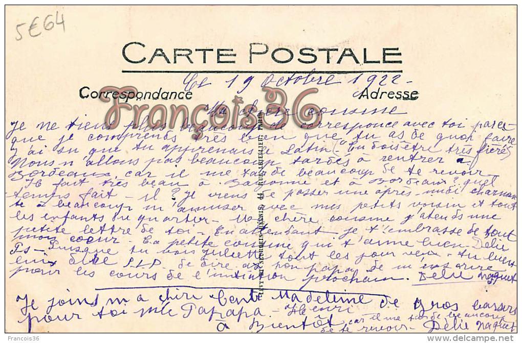 (64) Biarritz - Bains D'Enfants - Excellent état - 2 SCANS - Biarritz