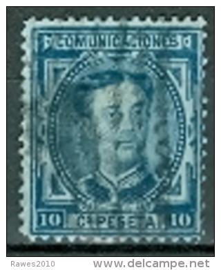 Spanien 1876 10 C. Gest. König Alfons XII. - Gebraucht