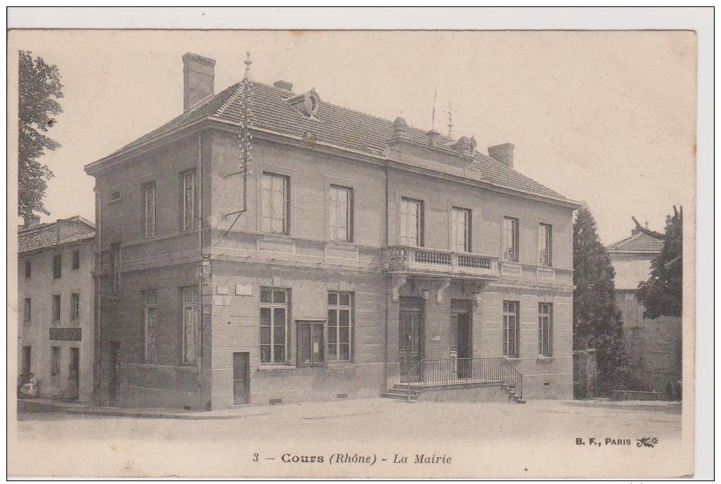 COURS -  La Mairie - Cours-la-Ville