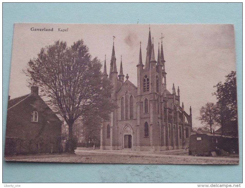 GAVERLAND Kapel ( Foubert ) - Anno 1930 ( Zie Foto Voor Details ) !! - Beveren-Waas