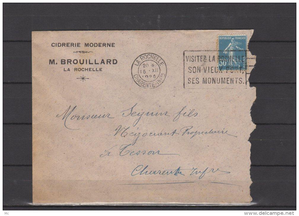 17 - La Rochelle - M. Brouillard - Cidrerie Moderne - 1925 - 1921-1960: Modern Period