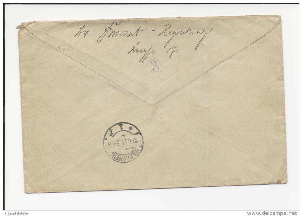LETTRE DE HEYDEKRUG MEMEL PAR EXPRESS AFFRANCHIE TOUT EN SEMEUSE COVER - Lettres & Documents